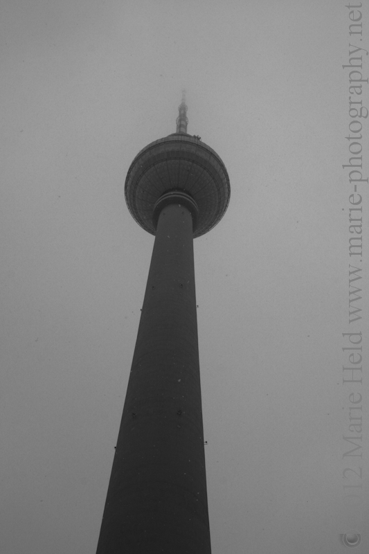 Berlin Television Tower on the Alexanderplatz