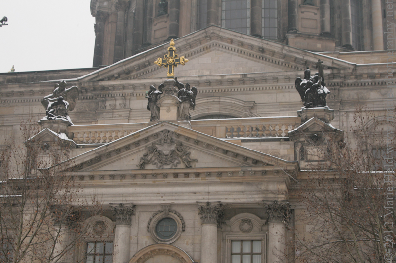 Detail of the Berlin Cathedral.